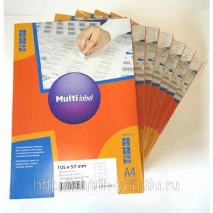 Самоклеящаяся этикетка Multilabel
