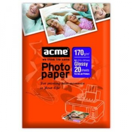 Фотобумага ACME глянцевая для струйной фотопечати