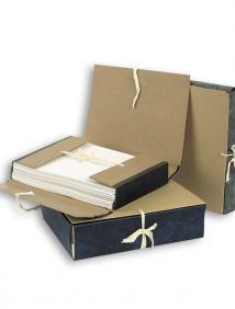 Папка архивная для бумаг на 4х завязках, 150мм арт ВП 041