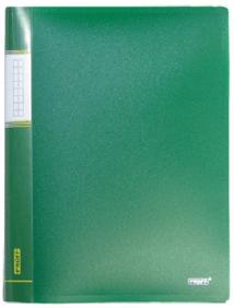 """Папка A4 2 кольца диаметром 16 мм зеленая 0.60 мм """"Proff. Next"""" арт RB 16-2-03"""