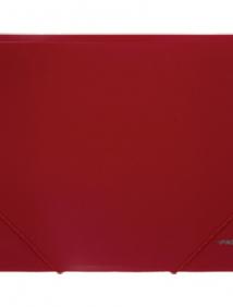 """Папка A4 с резинкой непрозрачная красная 0.50 мм """"Proff. Next"""" арт DC202-01"""