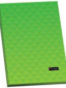 Папка ламинированная Pierre Cardin Geometrie Green с металлическим зажимом арт 254133
