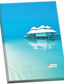 Папка ламинированная Pierre Cardin Riviera Lagune с металлическим зажимом арт 254135
