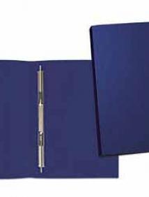 Папка пластиковая с металлическим скоросшивателем А5 Flexi синяя Expert Complete арт 22117774