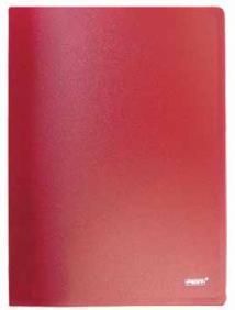 """Папка A4 с боковым пружинным скоросшивателем красная 0.60 мм """"Proff. Fibre Collection"""" арт CF903F-01"""