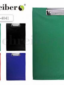 Клип-борд, А4, 31,5х22см., материал - ПВХ, ассорти арт S 4041