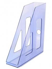 Лоток вертикальный АКТИВ  тонированный голубой арт ЛТ514