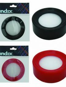 Увлажнитель для пальцев INDEX, круглый, диаметр 80мм, цвета ассорти, инд.пакет с подвесом ,INDEX арт I601
