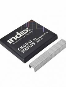 Скобы для степлера №23/10, 1000 штук ,INDEX  (до 100 листов) арт IS23/10