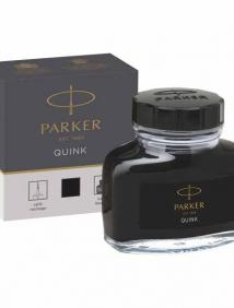 Чернила для перьевых ручек QUINK, флакон 57 мл, цвет чёрный, арт PARKER-1950375