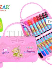 Набор фломастеров в сумочке, 18 цветов арт TZ 5672-18