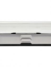 Футляр для одной ручки, 165х36х21мм, пластиковый, овальный, INDEX арт ВХ-113