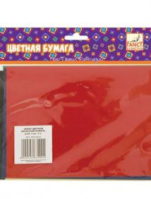 Набор цветной бархатной бумаги, ф.A5, 5 цв., 5 л. ,FANCY CREATIVE арт FD010012