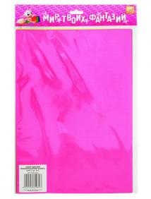 Набор самоклеющейся цветной флюоресцентной бумаги, ф.A4, 4 цв., 8 л. ,FANCY CREATIVE арт FD010019