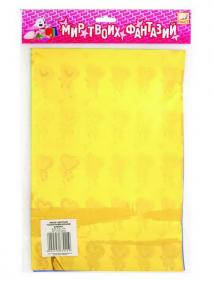 Набор самоклеющейся цветной голографической бумаги, ф.A4, 6 цв., 6 л. ,FANCY CREATIVE арт FD010021