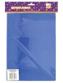 Набор цветного металлизированного гофрокартона, ф.A4, 5 цв., 5 л. (FANCY CREATIVE) арт FD010007