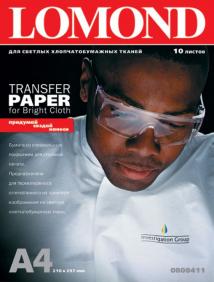Термотрансферная бумага для печати на тканях