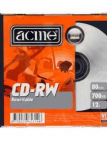 CD-RW 700 Мб 4-12х Acme