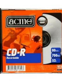 CD-R 700 Мб 52х Acme
