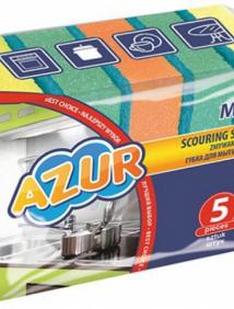 Губка кухонная для мытья посуды Azur Maxi