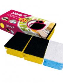 Губка кухонная для мытья посуды Clean&Shine;