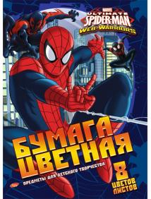 """Бумага цветная """"Spider-man"""""""