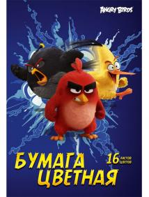 """Бумага цветная """"Angry Birds"""""""