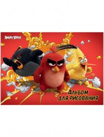 """Альбом для рисования """"Angry Birds"""""""