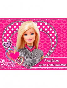 """Альбом для рисования """"Barbie"""""""