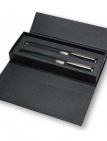 """Набор """"Image Black Line"""": ручка шариковая автоматическая и роллер"""